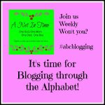 Introducing Blogging the Alphabet.
