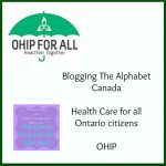 Blogging the Alphabet: OHIP