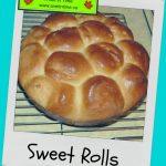Recipe: Sweet Rolls