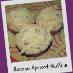 Recipe: Banana Apricot Muffins