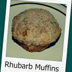 Recipe: Rhubarb Muffins