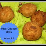 Recipe: Rice Cheese balls or Arancini
