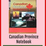 Canada Book: Canadian Province Notebook