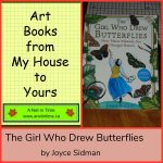 Art Book: The Girl Who Drew Butterflies