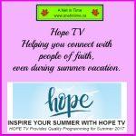 HOPETV, Inspiring Summer Viewing