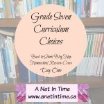 Grade Seven Curriculum Choices