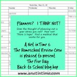 Planners?   I think NOT!
