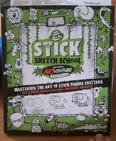 Stick Sketch School: An Animal Artventure: Mastering the Art of Stick Figure Critters (Stick World)