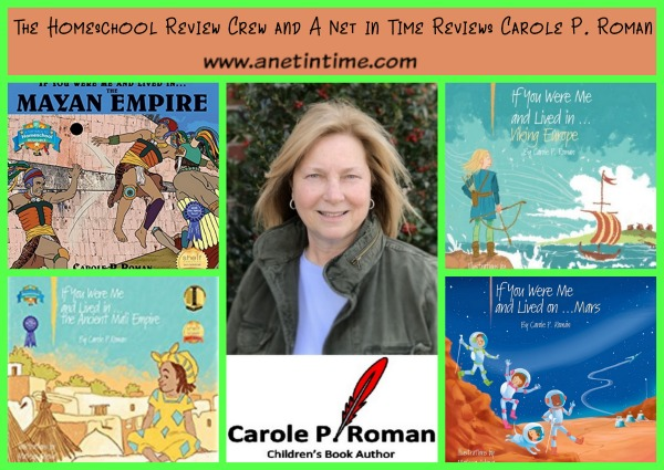 http://www.anetintime.ca/2017/09/carole-p-romans-cultural-history-books.html