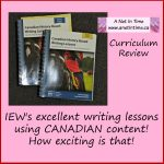 Review: Canadian History-Based Writing Lessons