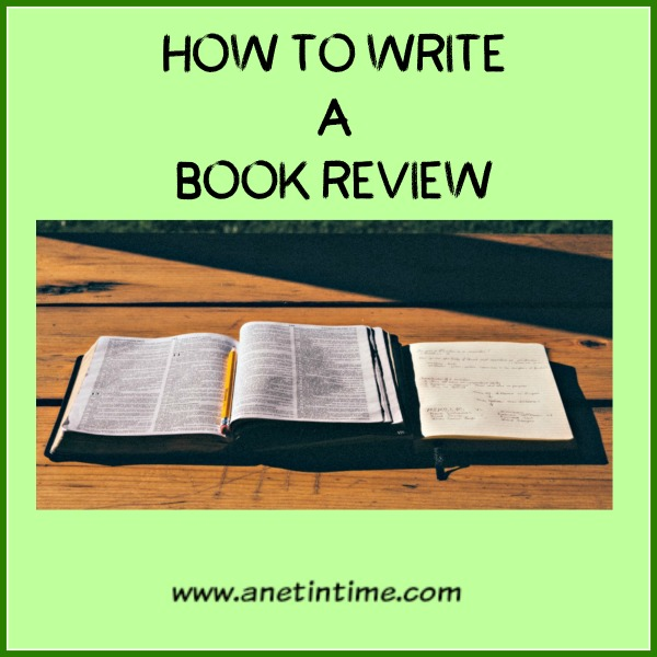 how to write a review about a book