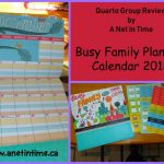 Review: Busy Family Planning Calendar 2018