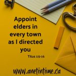 Appoint Elders in Every Town