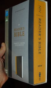 Review: NIV Reader's Bible