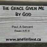 Paul, A Servant