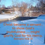 Christ Became a Servant