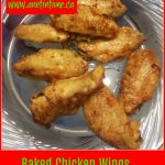 Recipes: Baked Chicken Wings