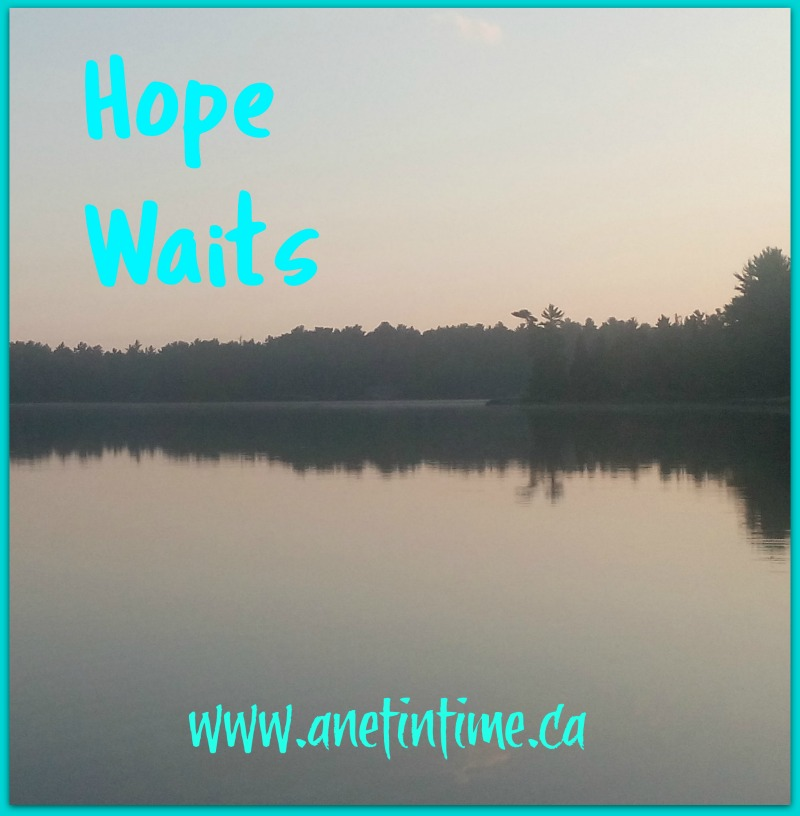 Hope Waits, a poem about change and looking forward with Hope