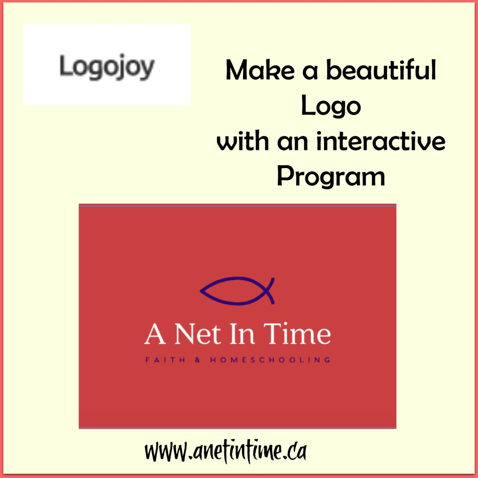 LogoJoy, a site the helps you design a logo for your business or blog.