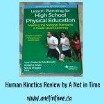 Review: Lesson Planning for High School Physical Education