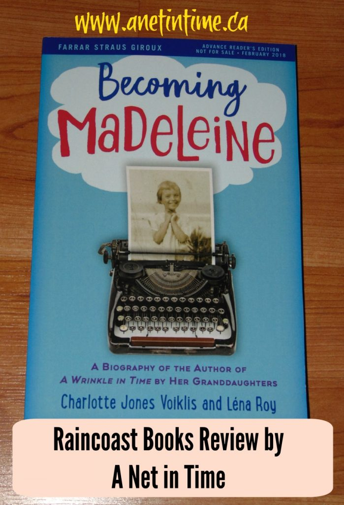 My review of the book Becoming Madeleine. A look into the early years of Madeleine L'Engle