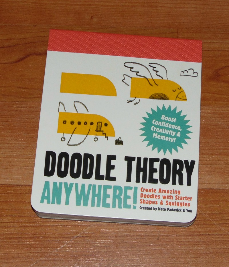 Doodle Theory Anywhere, a doodle note pad with many creative shapes