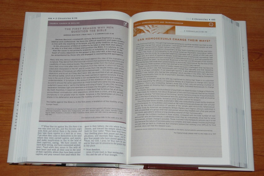 Sample article pages from NKJV Unapologetic Study Bible.