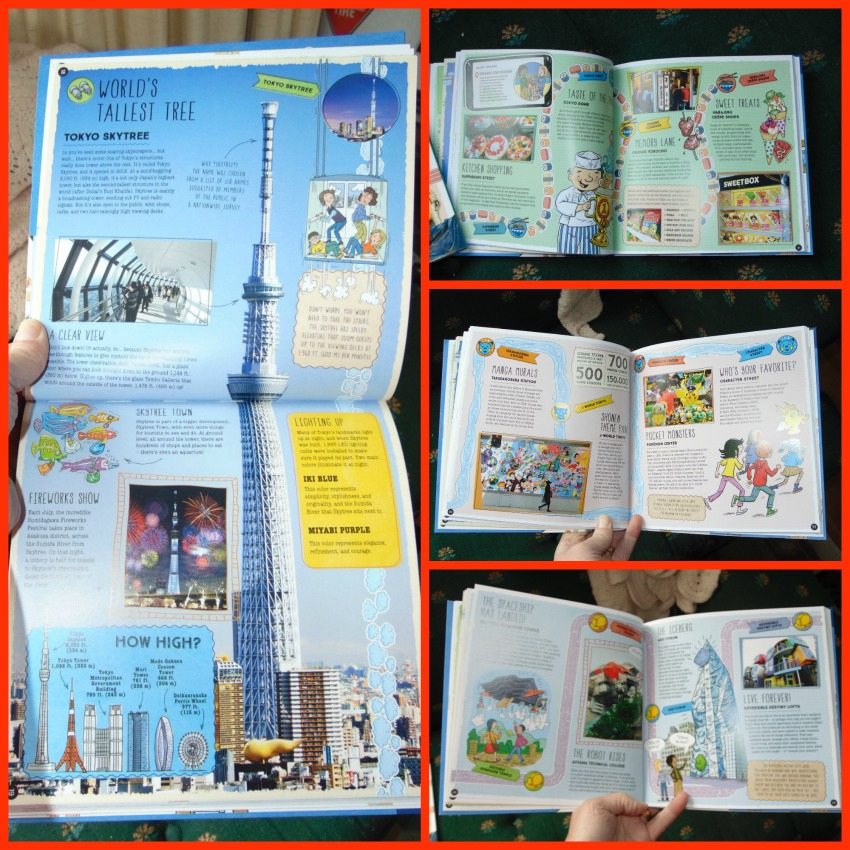 Sample pages from City Trails - tokyo