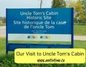 Field Trip: Uncle Tom's Cabin