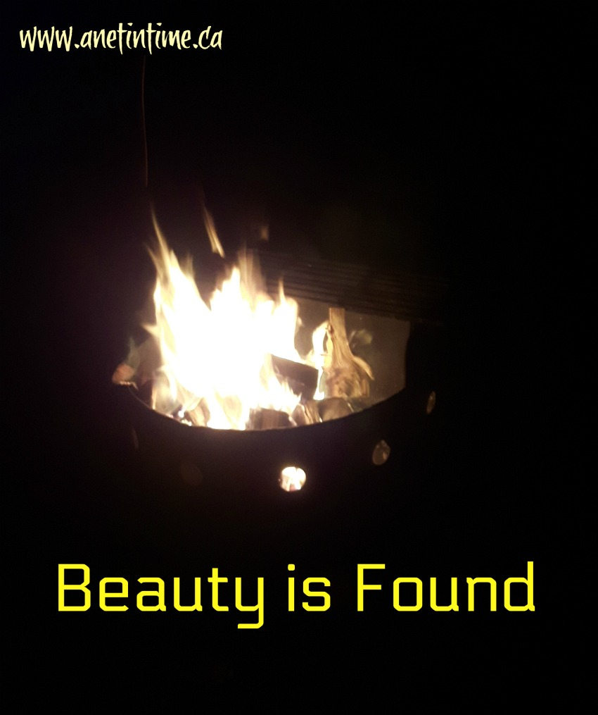 beauty is found, a five minute friday word prompt post.  Join us in this weekly freewrite.