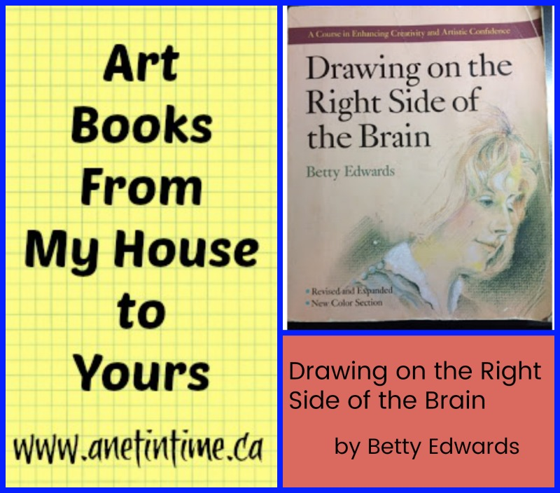 Drawing on the Right Side of the Brain, art book guest post.
