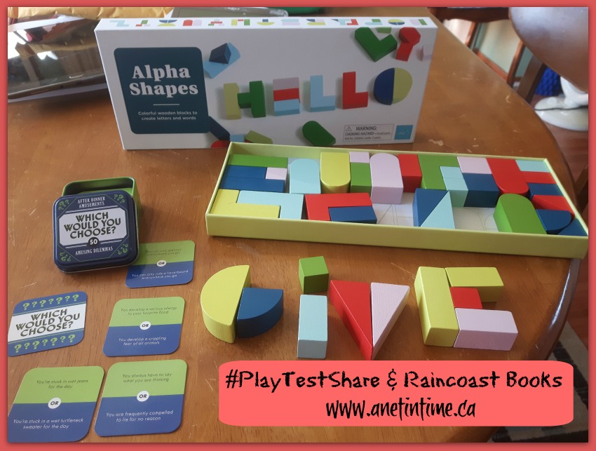 Thet annual contest for #playtestshare from Raincoast books