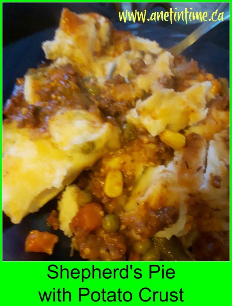 Shepherd's Pie with Potato Crust recipe