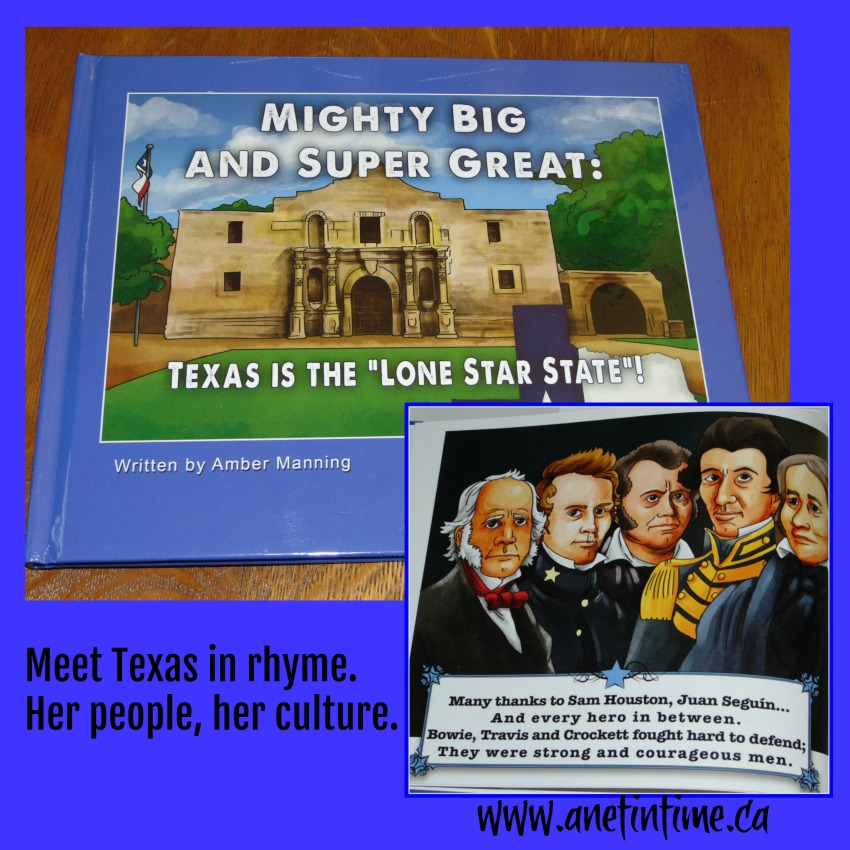 Mighty Big and Super Great, Texas is the Lone Star State book cover.  My review.
