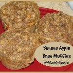 Recipe: Banana Apple Bran Muffins