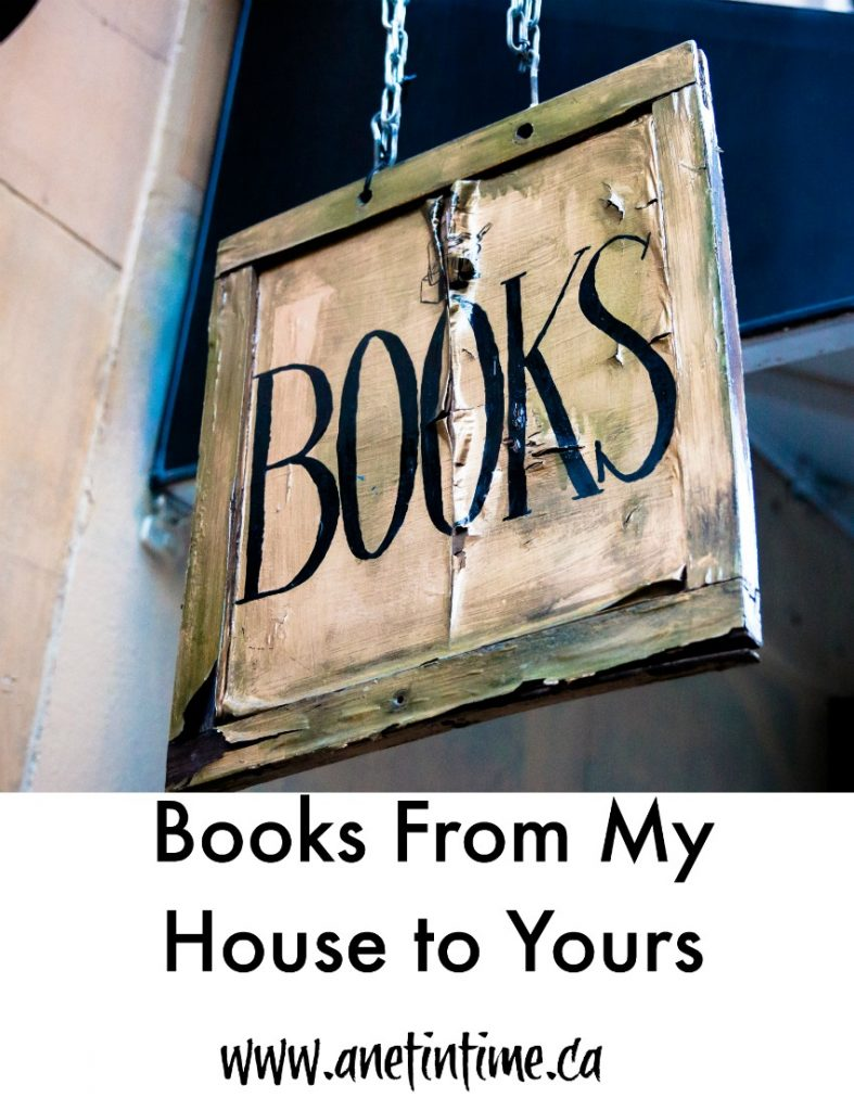 Books from my house to yours, books read in my household