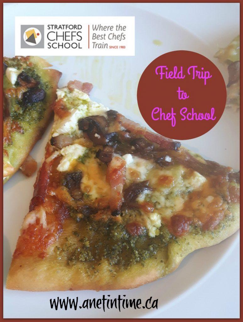 Field trip to Chef School