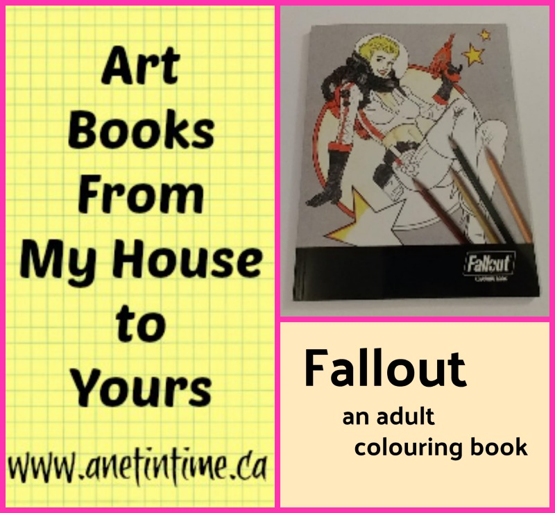 Fallout, an adult colouring book to go with the game Fallout