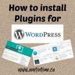 Adding Plugins to WordPress