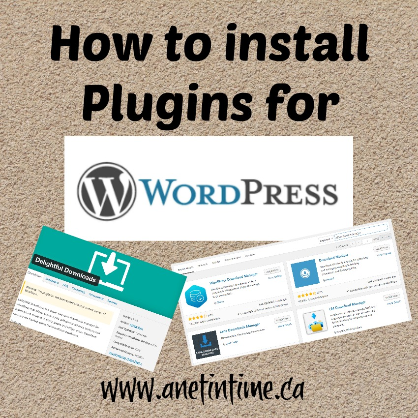How to install plugins for wordpress