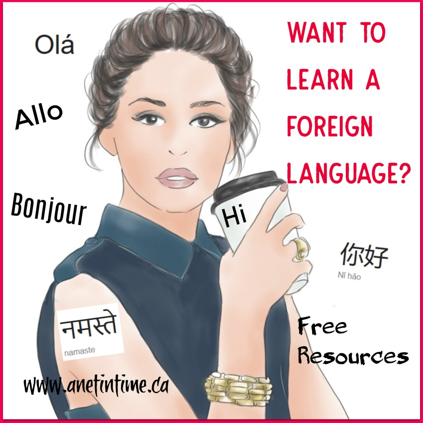 want to learn a foreign language?