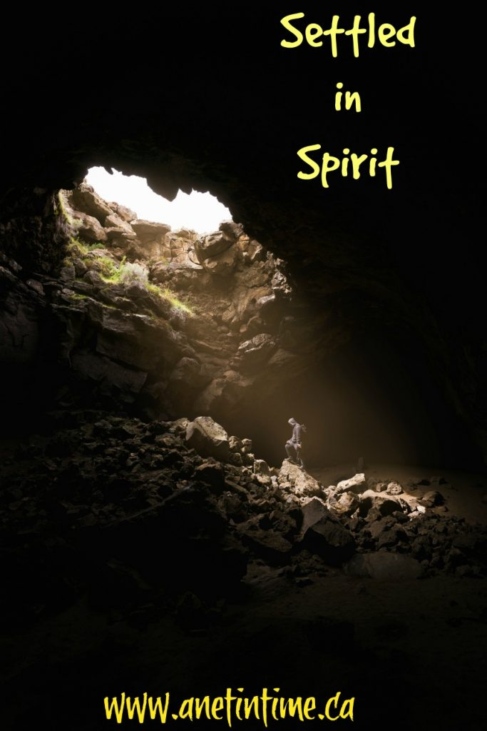 settled in spirit, a poem