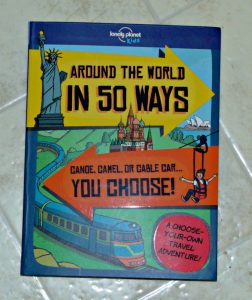 Around the world in 50 ways, book cover, review
