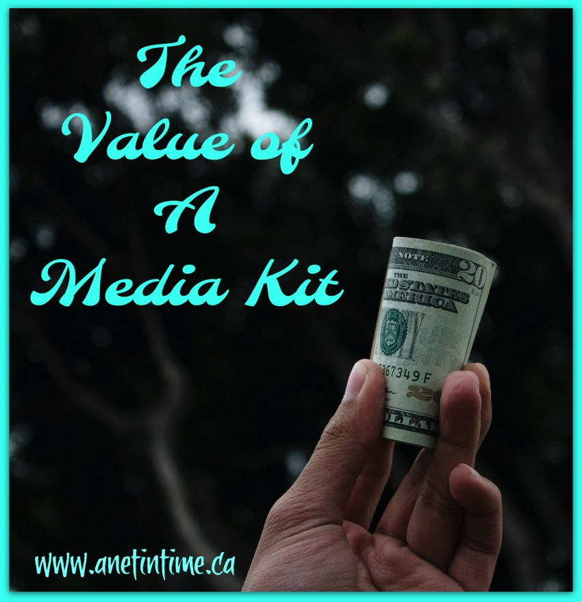 The value of a media kit for bloggers