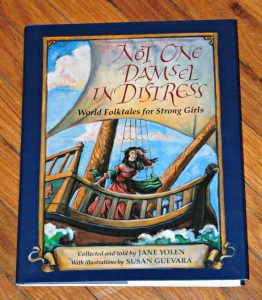 Not one damsel in distress, book cover