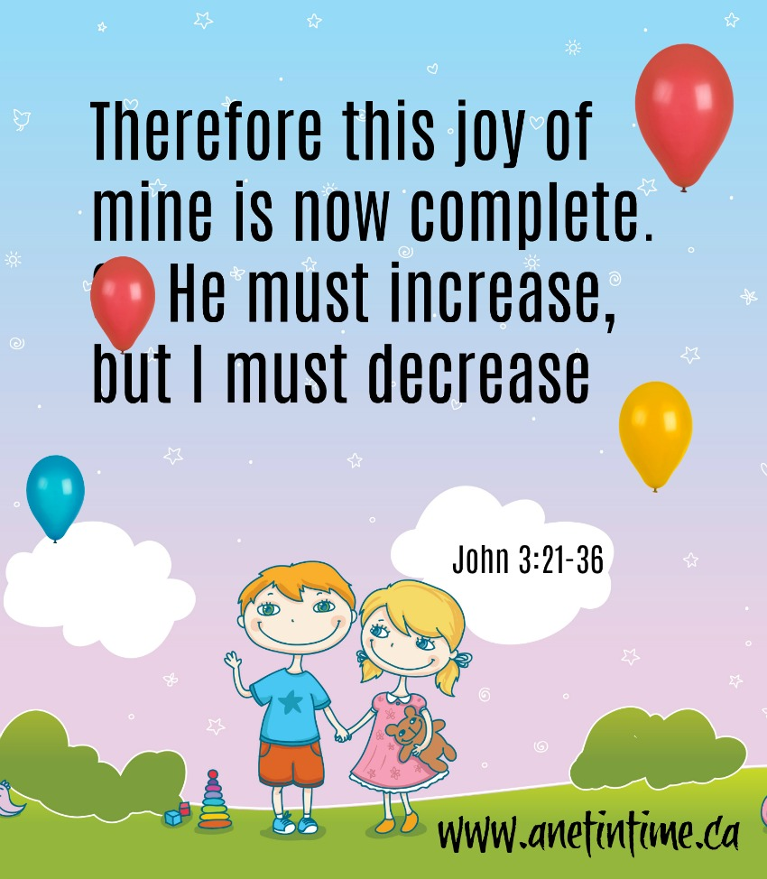 John 3:22-36 My Joy Complete