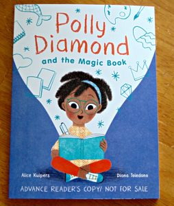 Polly diamond and the magic book,