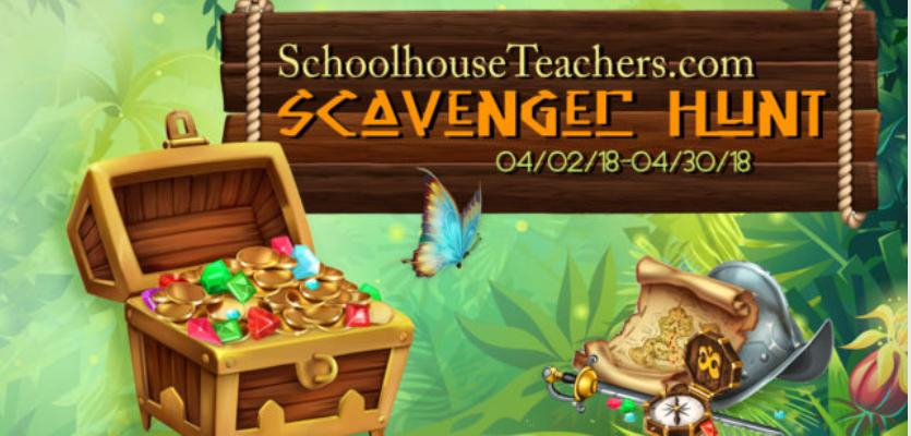 Schoolhouseteachers.com Scavenger Hunt!
