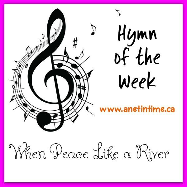 when peace like a river, lyrics and history