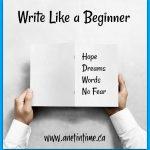 Write Like a Beginner